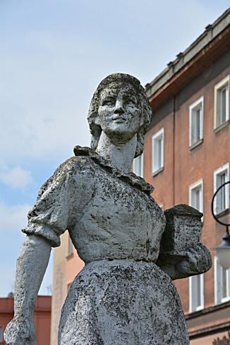 Rzeźba Murarka Tychy
